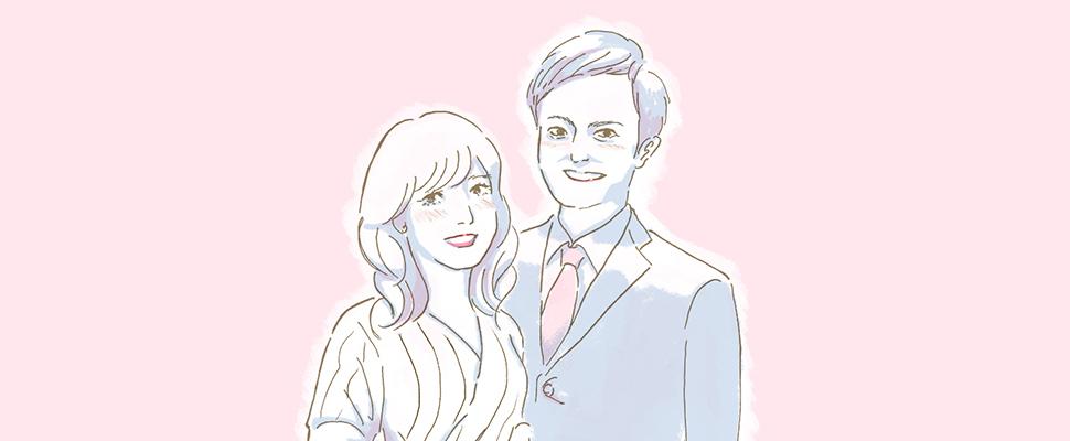 成婚したお2人の写真
